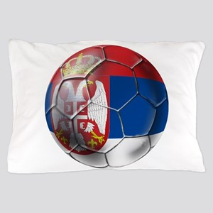 Serbian Football Pillow Case
