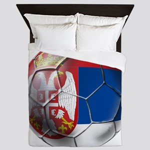 Serbian Football Queen Duvet