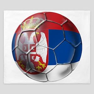 Serbian Football King Duvet