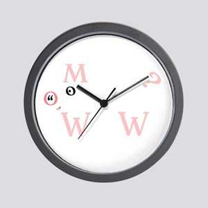 The Letter Pig Wall Clock