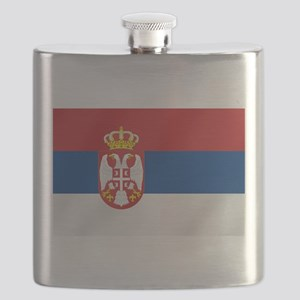 Flag of Serbia Flask
