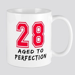 28 year birthday designs Mug