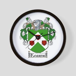 Kearns Coat of Arms Wall Clock