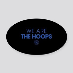 Queens Park We Are The Hoops Oval Car Magnet