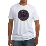Mimbres Olive Quail Fitted T-Shirt
