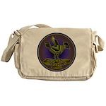 Mimbres Olive Quail Messenger Bag