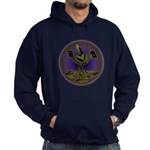 Mimbres Olive Quail Hoodie (dark)