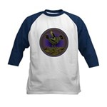 Mimbres Olive Quail Kids Baseball Jersey