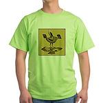 Mimbres Quail Ochre Green T-Shirt
