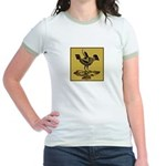 Mimbres Quail Ochre Jr. Ringer T-Shirt