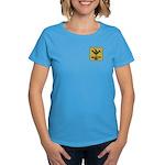Mimbres Quail Ochre Women's Dark T-Shirt