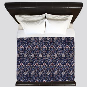 Morris Evenlode with Repeats King Duvet
