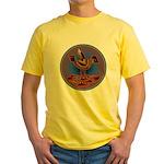 Mimbres Quail 3 Yellow T-Shirt