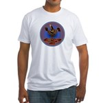 Mimbres Quail 3 Fitted T-Shirt