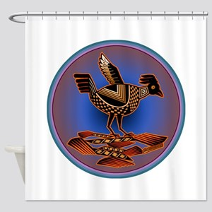 Mimbres Quail 3 Shower Curtain