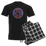 Mimbres Quail 3 Men's Dark Pajamas