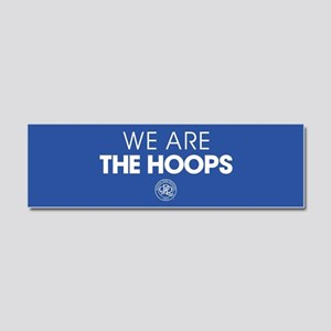 Queens Park We Are The Hoops Car Magnet 10 x 3