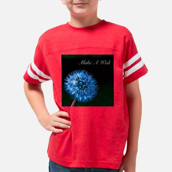 Biolumenescent Dandelion2 Youth Football Shirt