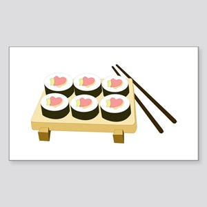 Sushi Love Rectangle Sticker