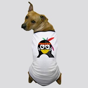 Native American Penguin Dog T-Shirt