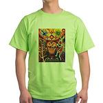 Shaman Red Deer 1 Green T-Shirt