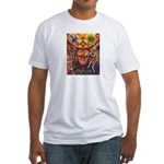 Shaman Red Deer 1 Fitted T-Shirt