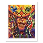 Shaman Red Deer 1 Small Poster