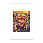 Shaman Red Deer 1 Mini Poster Print