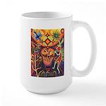 Shaman Red Deer 1 Large Mug