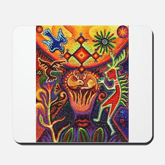 Shaman Red Deer 1 Mousepad
