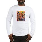 Shaman Red Deer 1 Long Sleeve T-Shirt