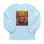 Shaman Red Deer 1 Long Sleeve Infant T-Shirt