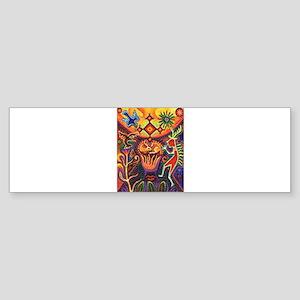 Shaman Red Deer 1 Sticker (Bumper)