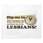 Dip Me in Hummus King Duvet