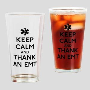 Thank An EMT Drinking Glass