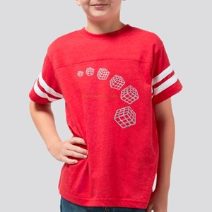 Space and time 02 Youth Football Shirt