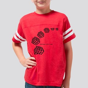 Space and time 03 Youth Football Shirt