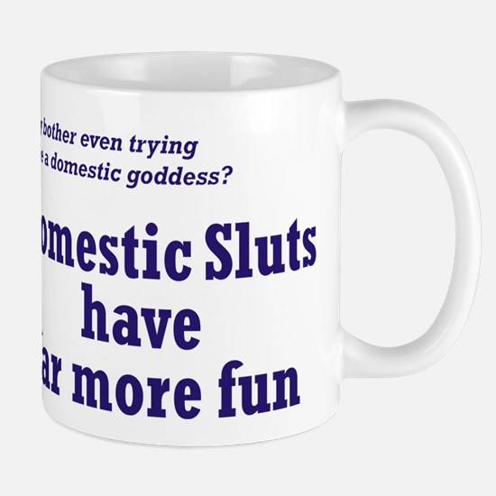 Domestic Sluts Small Mug