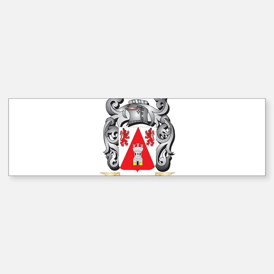 Hendrich Coat of Arms - Family Cres Bumper Bumper Bumper Sticker