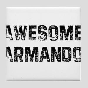 Awesome Armando Tile Coaster