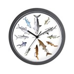 12 Shark Wall Clock