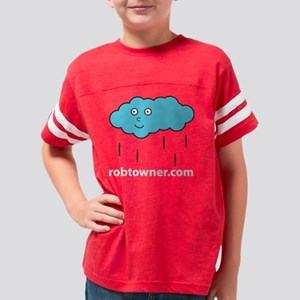 Cloud James WHITE Youth Football Shirt