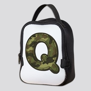 Q Army Neoprene Lunch Bag