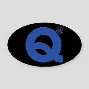 Queens Park Rangers 1882 Oval Car Magnet