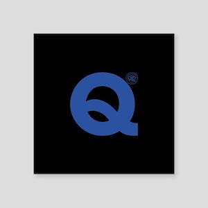 "Queens Park Rangers 1882 Square Sticker 3"" x 3"""