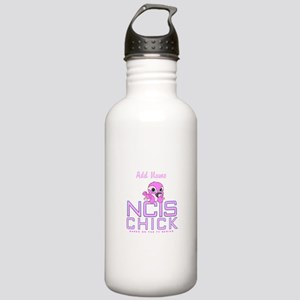Personalized NCIS Chick Stainless Water Bottle 1.0