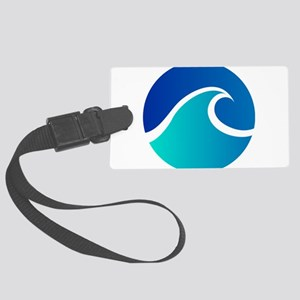 Wave - Summer - Travel Luggage Tag