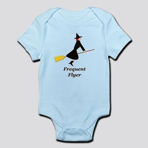 Frequent Flyer Infant Bodysuit