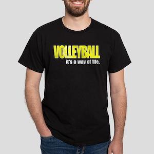 Volleyball Way of Life Dark T-Shirt
