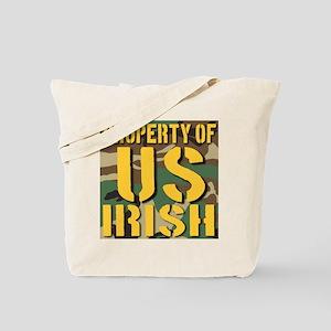 Property of US Irish Tote Bag